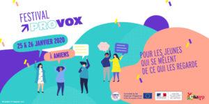 Participez au festival Provox les 25 & 26 janvier 2020