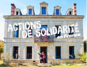 Actions de solidarité en France pour les ados, les adultes et les familles