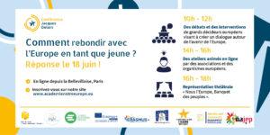 Le Cnajep est partenaire de la conférence Jacques Delors !